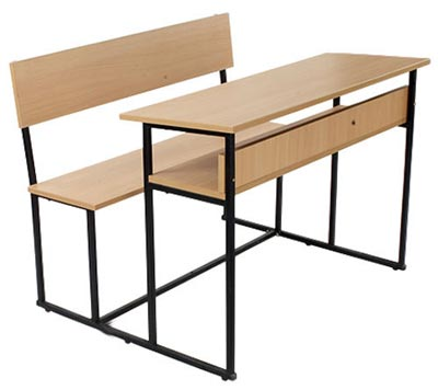 hwsd0006 school desk pre laminated board - School Desk Design